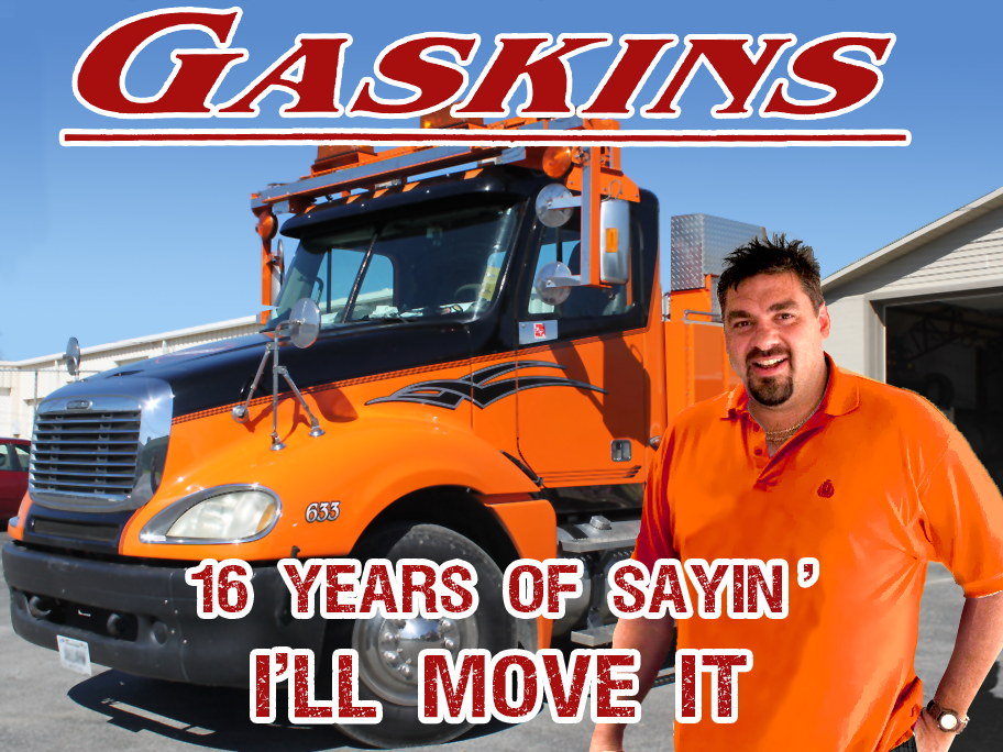 Gaskins Mobile Home Transport - 16 years of service